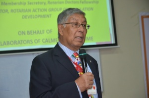 PDG Dr Himansu Basu, VTT Team Leader